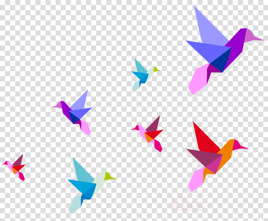 Origami paper PNG Images.