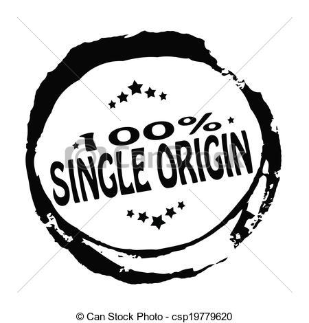 Vector Illustration of Single origin.