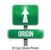 Vector Clipart of New Start Street Sign illustration design over a.