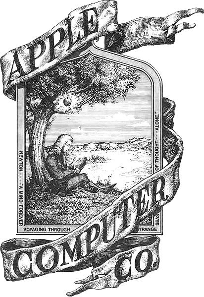 The Original Apple Logo.