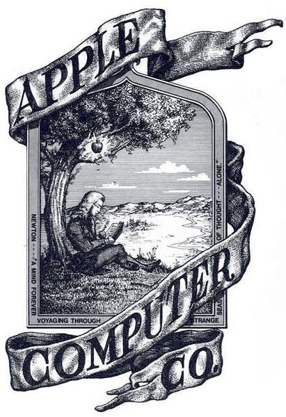 Fancy a piece of Apple history? Apple\'s original rainbow.