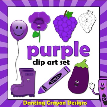 Purple Things Clipart.