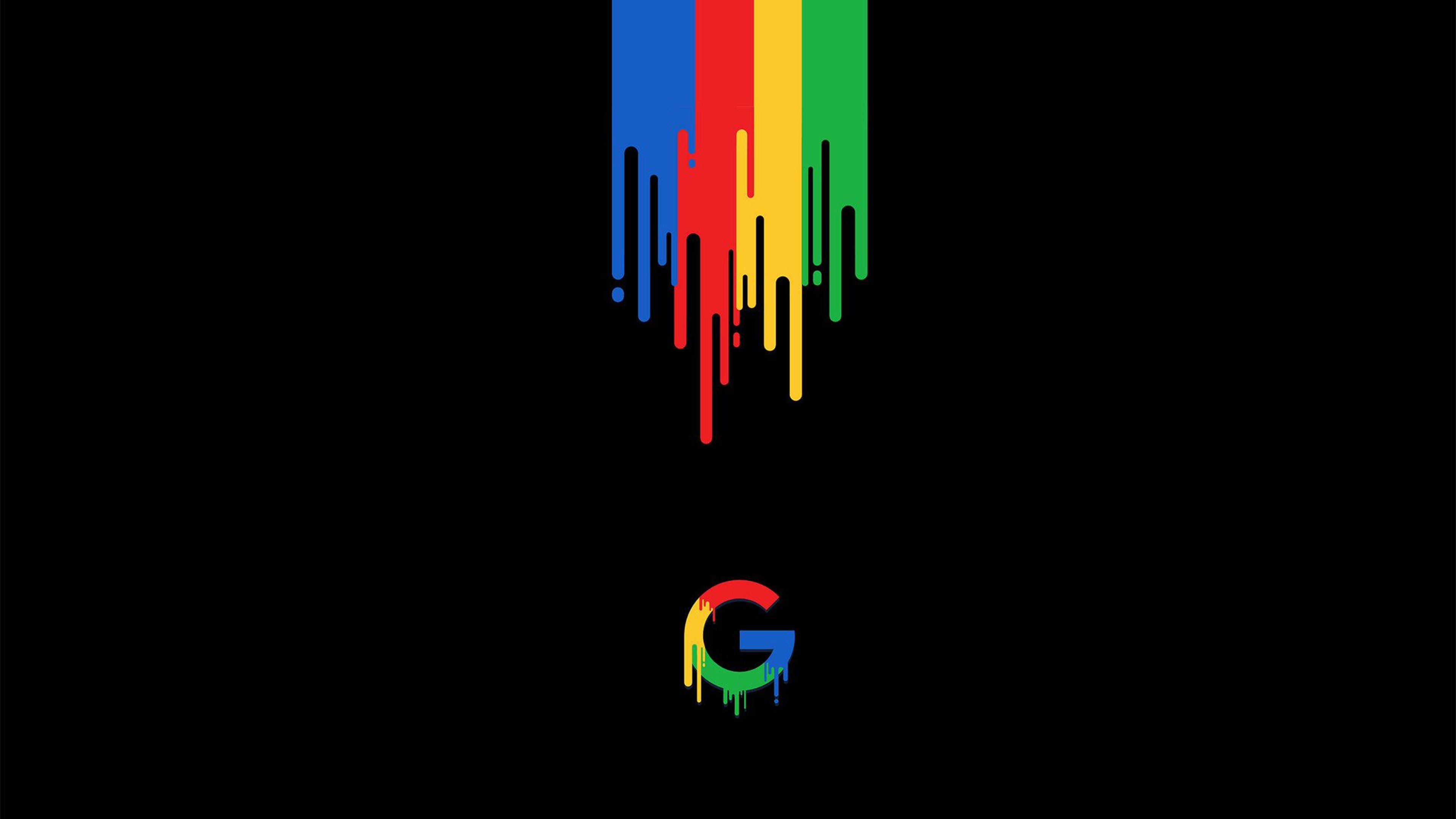 Melting Google Logo Wallpaper 43117.