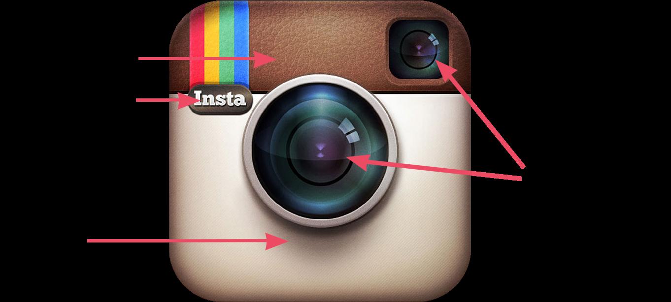 Download Instagram Original Logo Skeuomorphism Details.