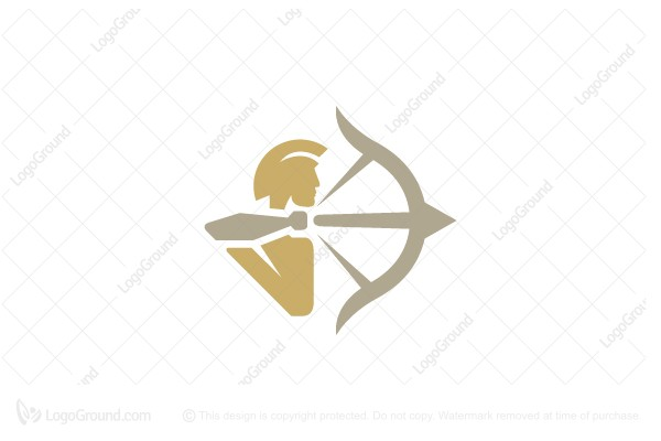 Exclusive Logo 187045, Golden Archer Logo.