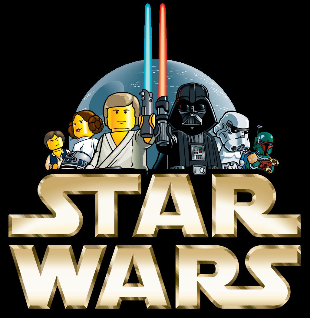 The original Lego Star Wars logo from 1999 : nostalgia.
