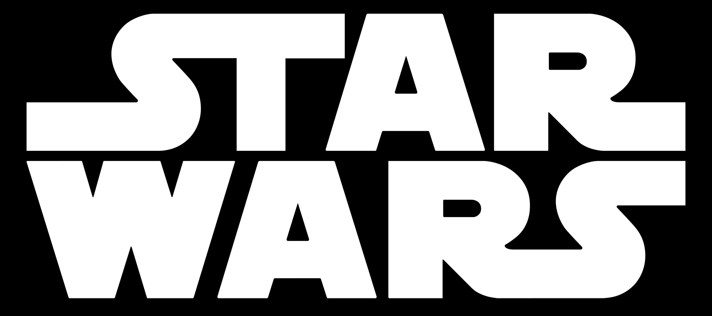 Meaning Star Wars logo and symbol.