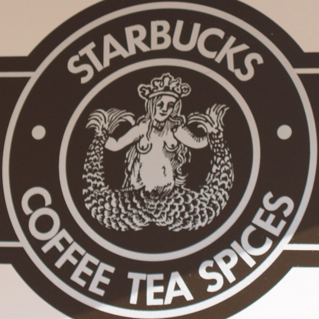 Original Starbucks Logo.