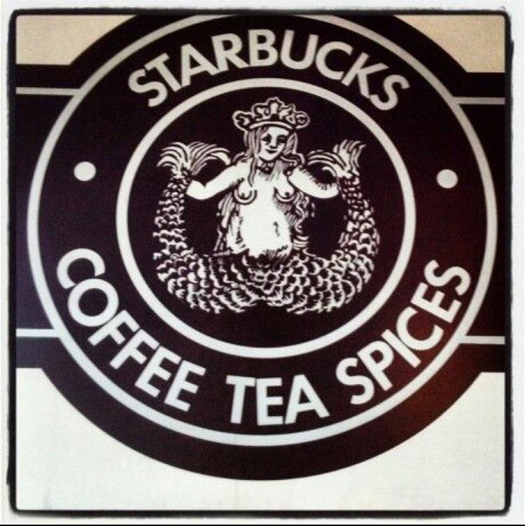 Original Starbucks Logo 1971.