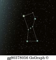 Orion Constellation Clip Art.