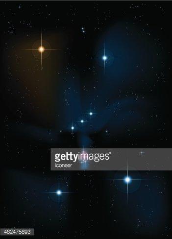 Orion Constellation premium clipart.