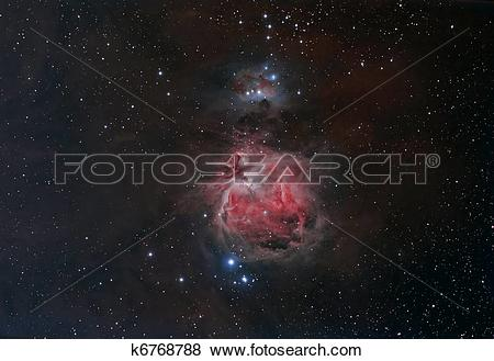 Pictures of M42, The Orion Nebula k6768788.
