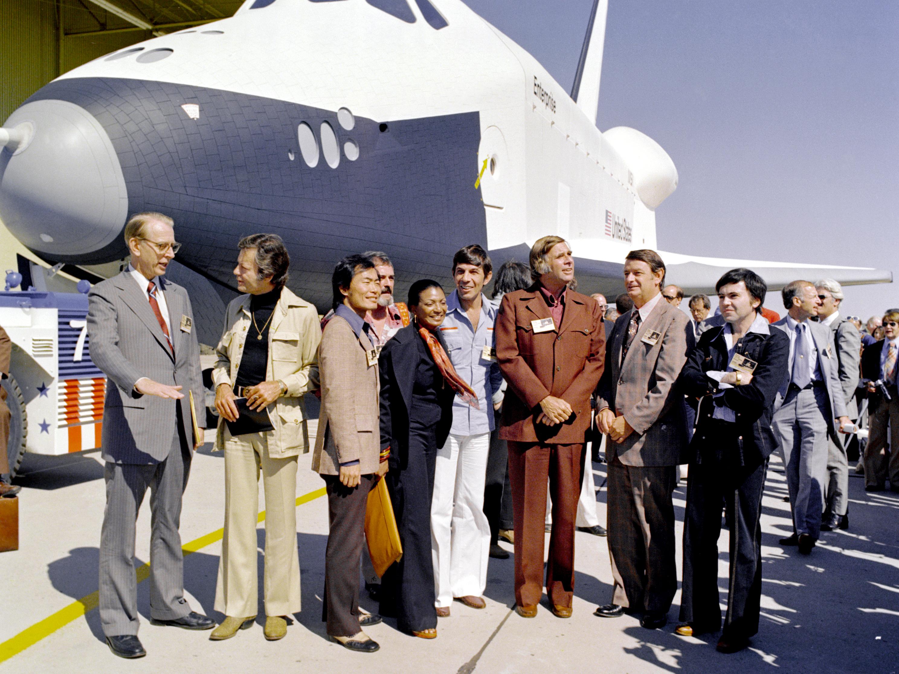 Space Shuttle Enterprise.