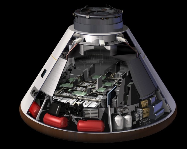 Orion Spacecraft Mars.