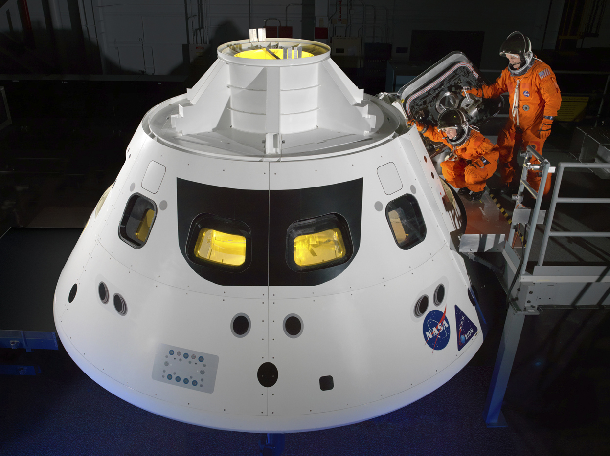 NASA's New Orion Spacecraft and Space Launch System.