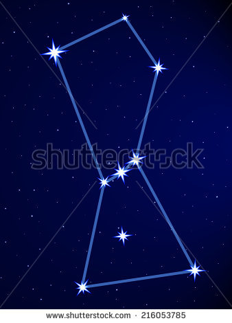 Orion Stars Stock Photos, Royalty.