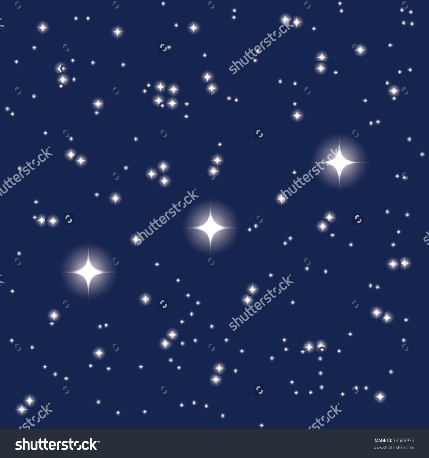 Constellation Orions Belt Stock Vector 14589976.