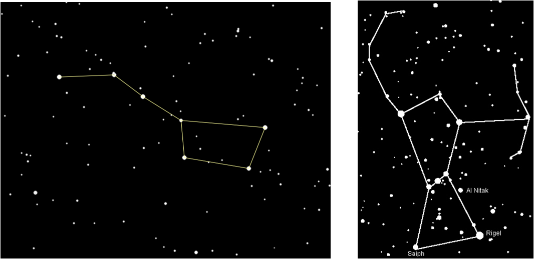 Orion's Belt Clip Art.
