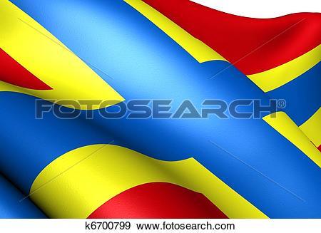 Stock Illustration of Flag of Orkney k6700799.