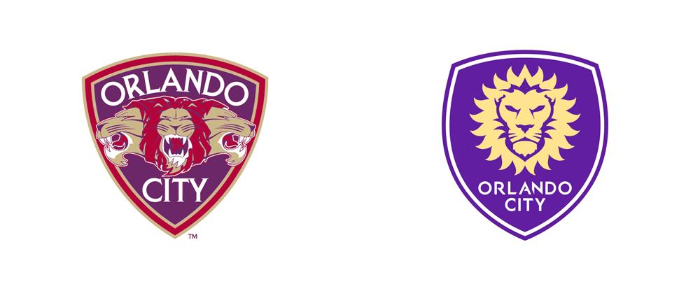 Brand New: New Logo for Orlando City SC by David Brotherton.