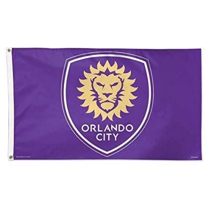Orlando City Logo Flag 3x5.