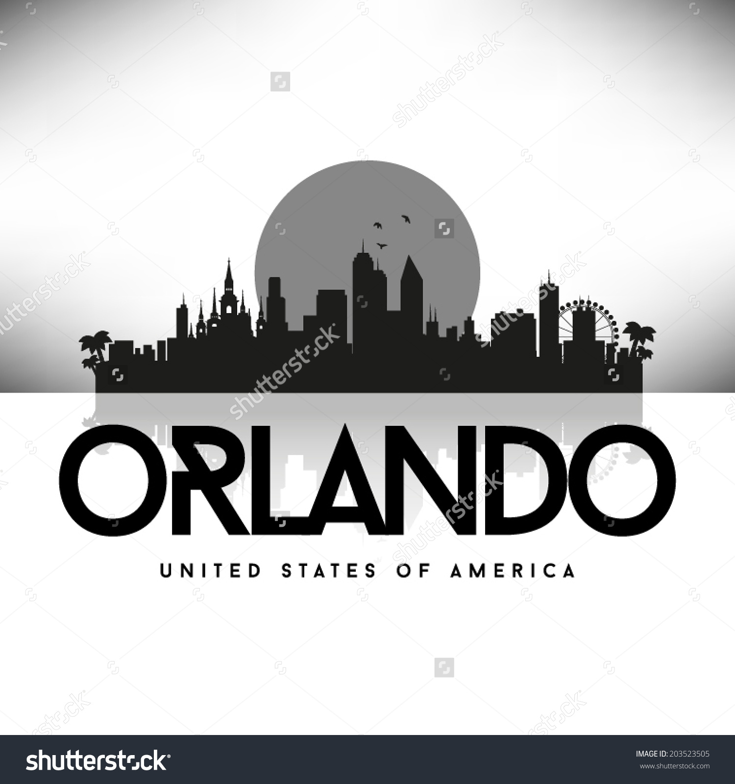 Orlando eye clipart.