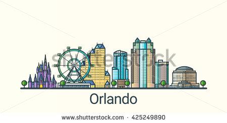 Orlando Stock Photos, Royalty.