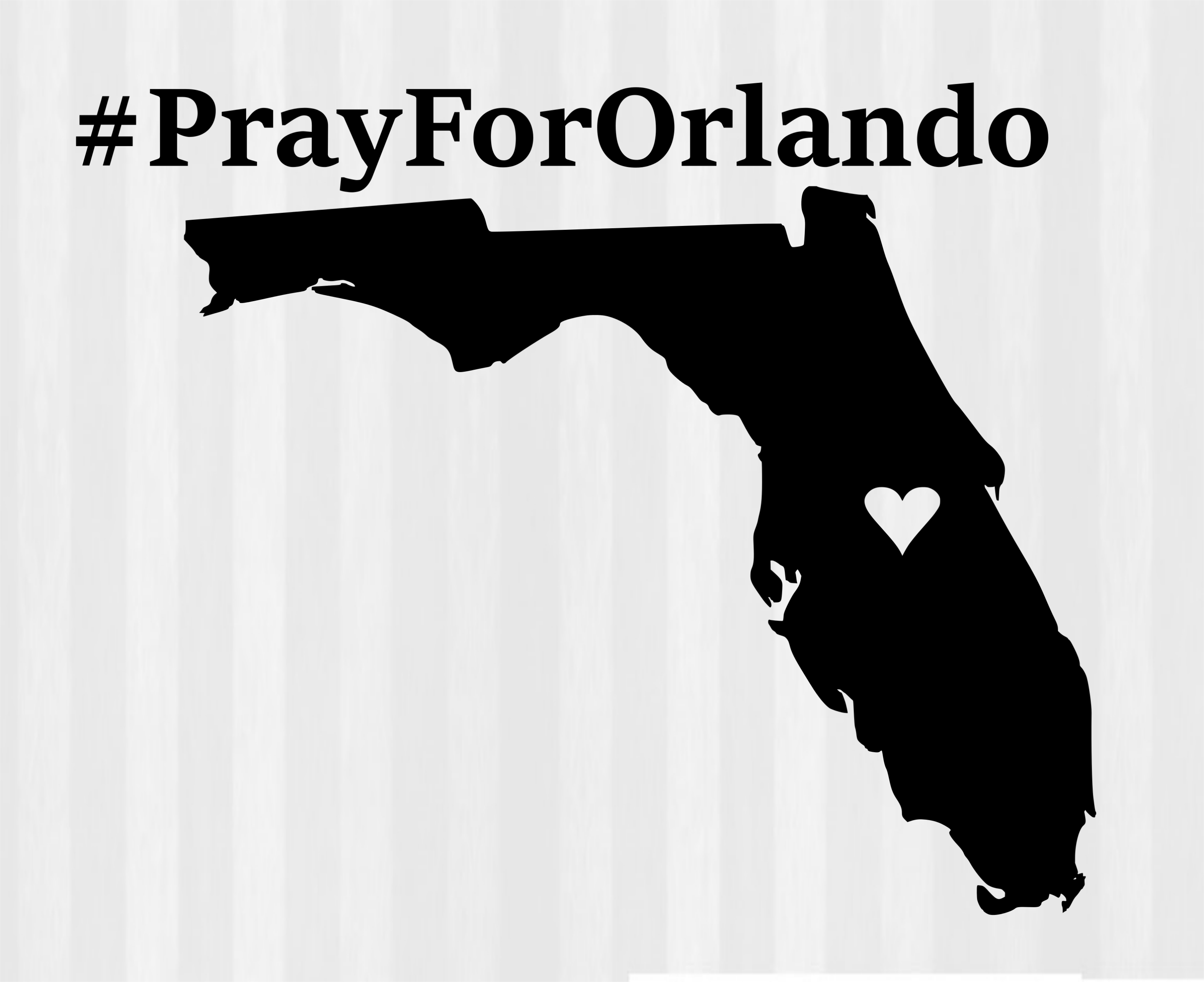 Orlando shooting clipart.