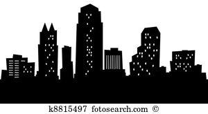 Orlando florida skyline city silhouette Illustrations and Clip Art.