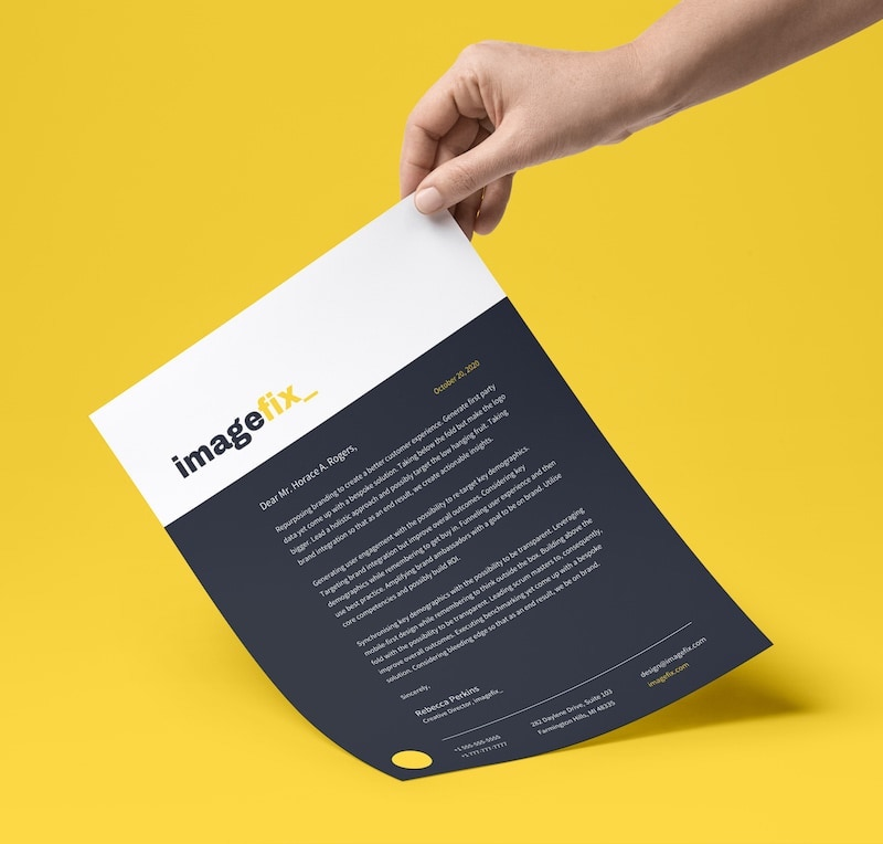 20+ Professional Business Letterhead Templates and Branding.
