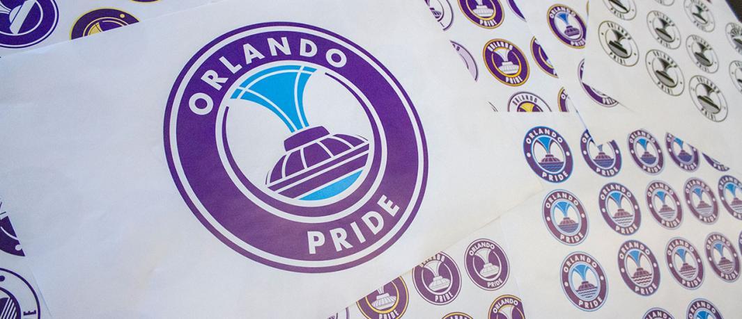 Behind The Scenes: Creating The Orlando Pride Logo.