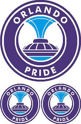 Orlando Pride Soccer Vinyl Decal Sticker Car Window.