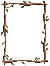 Resultado de imagen de clipart bordes hojas.