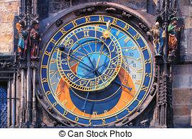 Picture of Orloj Clock in Prague.