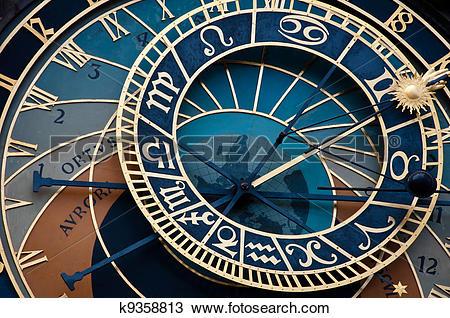 Stock Photo of Prague orloj k9358813.