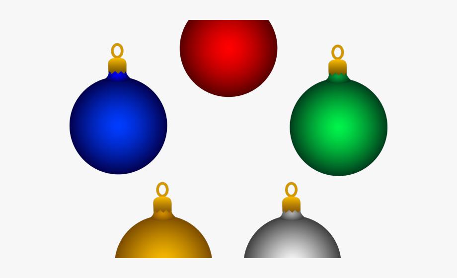 Christmas Ornaments Clipart Bulb.