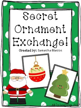Ornament Exchange Worksheets & Teaching Resources.