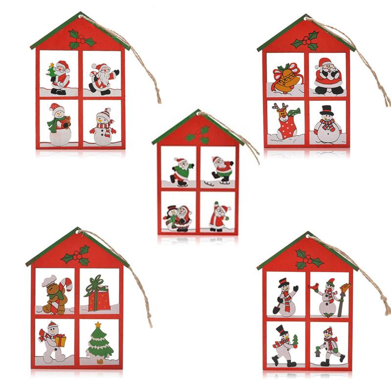 Popular House Christmas Ornaments.