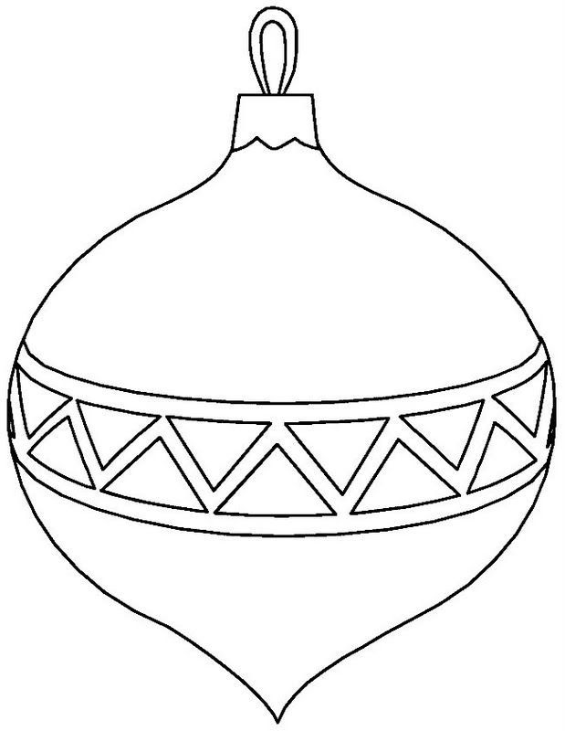 Image result for christmas bulb outline.
