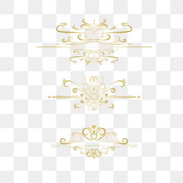 Ornamental Borders Png, Vector, PSD, and Clipart With.