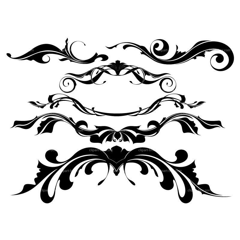 Ornamental clip art free.