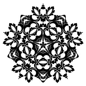 Ornamental Flourish Design clipart, cliparts of Ornamental.