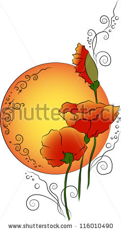 Ginseng Root Leaf Flower Isolated On Stock Vector 199291700.