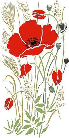Poppy Flower Drawing.