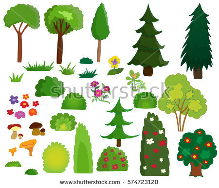 Shrub Stock Images, Royalty.