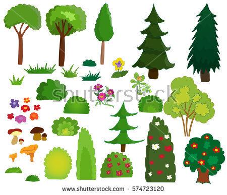 ornamental shrubs clipart clipground