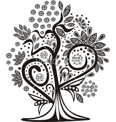 Magical tree clipart.