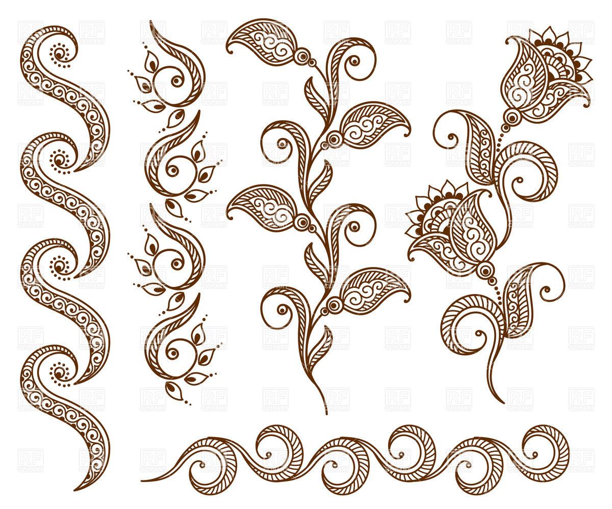 Free clipart ornamental designs.