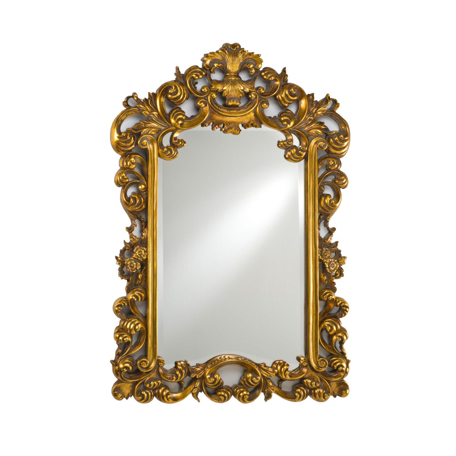 Ornate Gold Frame.