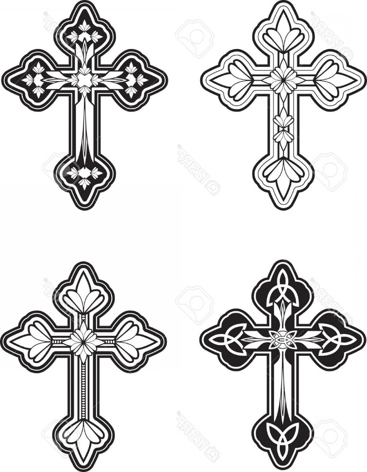 Ornate Cross Vector at GetDrawings.com.
